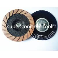 Buy cheap Ceramic Bond Hybrid Edge Cutting Grinding Wheels For Concrete Coating Removal Polishing from wholesalers