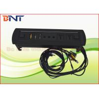 Wholesale Coference Hidden Rotating Desk Mounted Power Sockets With USB / RJ45 / VGA from china suppliers