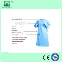 Wholesale Disposable Sterile Standard Surgical Gown/Reinforced Surgical Gown for Hospital from china suppliers