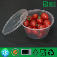 Buy cheap Food grade Take Away Plastic Soup Bowl, Salad container 450ml from wholesalers