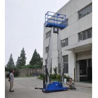 Wholesale Dual mast vertical access platform aerial work platform aluminum lift from china suppliers