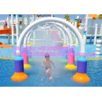 Wholesale Commercial Playground Water Park Equipment Spray Park Equipment 266x62x245cm from china suppliers