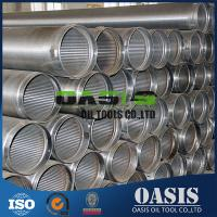"Wholesale Continuous slot 8-5/8"" water well drilling wire wrapped screens from china suppliers"