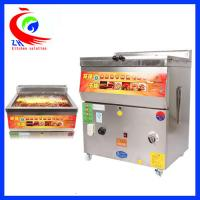 Wholesale Commercial Stainless Steel Countertop Gas Fryer Single Tank Without Baskets from china suppliers