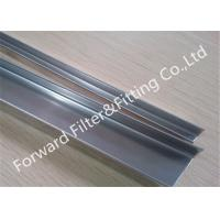Wholesale 18G / 11G thickness Galvanized , Powder Coating Stainless Steel U Channel / Edging from china suppliers