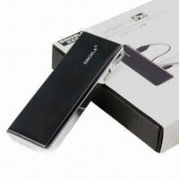 Wholesale Portable 5200mAh Power Bank, 5V/2A Output, Suitable for iPhone, iPad, Samung, BlackBerry and Sony from china suppliers