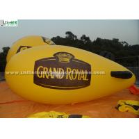 Wholesale Yellow Popular Inflatable Helium Zeppelin Made Of 0.16mm PVC For Promotion from china suppliers