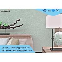 Wholesale Crevasse Crack Modern Removable Wallpaper With Foaming Treatment And Silver Gloss from china suppliers