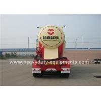 Wholesale Bulk Cement Semi Trailer with Mechanical / Air Suspension optional power unit from china suppliers