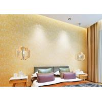 China Eco-friendly Non-woven Home Decoration Wallpaper European Style  Embossed  Foam on sale