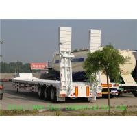 Wholesale 3 Axle Low Bed Semi Trailer For Transport Heavy Cargo And Excavator from china suppliers