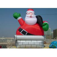 Wholesale Outdoor Cute Inflatable Advertising Products Santa Advertising Claus from china suppliers