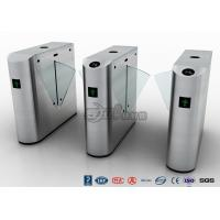 Wholesale Auto Retractable Entrance Waist High Turnstile With Face Recognition / Card Reader from china suppliers