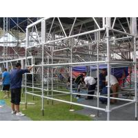 Wholesale Adjustable Lighting Layer Truss 1.22×2.44 m Concert Stage Light Stand from china suppliers