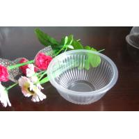 Wholesale Plastic Disposable Dessert Cups With Round Bowl 200ml 9.5x5.0cm from china suppliers