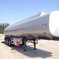 Wholesale Tanker semi trailer on stainless steel 35000-80000 liters for palm oil, caustic soda, HC1 etc from china suppliers