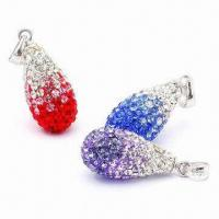 Wholesale Crystal Pendants, Customized Sizes Available from china suppliers