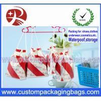 Wholesale Travel Easy To Pick Up Cloth Drawstring Bags Rope Bag Beam Pocket from china suppliers