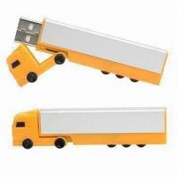 Wholesale Plastic Customized Logo Truck USB Flash Drives/Plastic Truck USB Stick/Truck-shaped USB Flash Drive  from china suppliers
