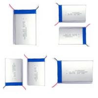 Wholesale 3.7V 18650 Rechargeable Battery / Lithium Polymer Cells 605080 For Tracking Device from china suppliers
