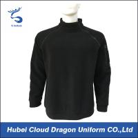 Wholesale 100% Polyester Black Fleece Security Guard Jackets Pullover Workwear Environment Friendly from china suppliers