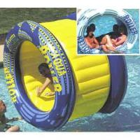 Wholesale Outdoor Big Inflatable Water Roller Ball With Slides , EN71 / SGS / CE / UL Certificate from china suppliers