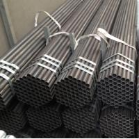 Wholesale China factory price Black Painted ERW Steel Pipe with Bevel Ends from china suppliers