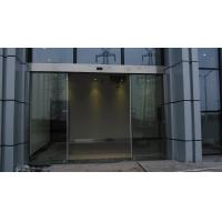 Wholesale Double Exterior Frameless Automatic Glass Door Slider Energy Saving from china suppliers