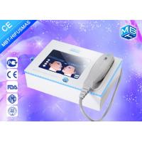 Wholesale Portable Face Wrinkle Remover Machine , Slaon Ultrasonic Facial Machine from china suppliers