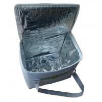 Wholesale High end Reusable White Nylon Thermal Insulated Bags With Aluminum Foil And White Zipper from china suppliers