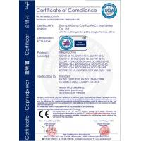 Zhangjiagang City FILL-PACK Machinery Co., Ltd Certifications