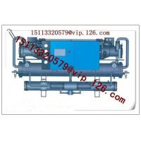 Wholesale Double shell and tube type central stationary water cooled chiller from china suppliers