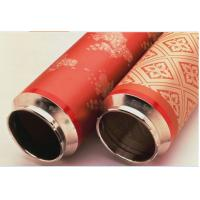 Wholesale Fabric Printing Rotary Nickel Screen , Accurate Textile Screen Printing Mesh 125V from china suppliers