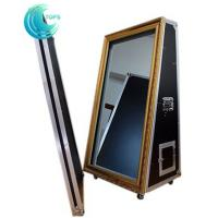 Wholesale Automatic 65 inch magic new year mirror selfie mirror photo booth for events from china suppliers