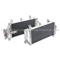 Wholesale Motocross High Performance Aluminum Radiator With TIG Welded Tanks from china suppliers
