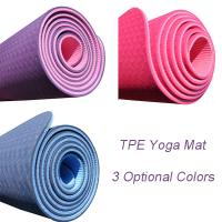Wholesale Professional Organic TPE / PVC Foam Folding Yoga Mat 3mm To 8mm Thickness from china suppliers