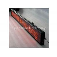 Wholesale Single Red LED Moving Message Display from china suppliers