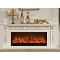 Wholesale Classic 1.5m Oak Electric Fireplace TV Stands Living Room Furniture from china suppliers