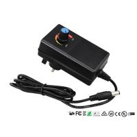 Wholesale CE UL Adjustable Output Voltage Wall Adapter Power Supply With Adjustable Switch from china suppliers