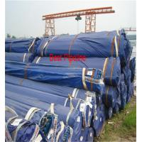 EN 10297 20MNV6 Carbon Seamless Steel Pipe With Carbon Steel Plate for sale