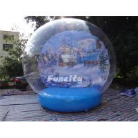 Wholesale 0.9mm PVC Tarpauline Inflatable Snow Globe from china suppliers