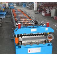 Wholesale Double Layer IBR Corrugated Roof Panel Roll Forming Machine Galvanized Steel from china suppliers