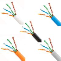 Wholesale UTP Ethernet Lan Cable with Solid Bare Copper , Twisted-pair Network Cable from china suppliers