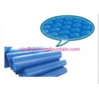 Wholesale PE Material Swimming Pool Control System Inflatable Bubble Solar Cover 300 Mic - 500 Mic Blue Color from china suppliers