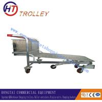 Wholesale Heavy Duty Folding Transportation Warehouse Hand Trolley with Five Wheels from china suppliers