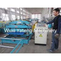 Wholesale PPGI / GI Material Glazed Tile Roll Forming Machine Hydraulic Cutting Style from china suppliers