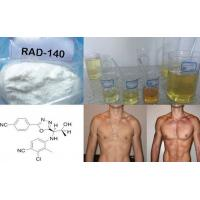 Wholesale 99.5% Assay Raw Testolone Powder Sarm RAD 140 for Muscle Growth , CAS 1182367-47-0 from china suppliers
