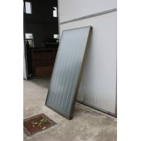 Quality Copper Coil Flat Plate Solar Collector , Solar Powered Water Heater For Water Heating for sale