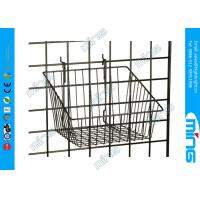 "Wholesale Small Grid Wall Accessories Retail Store Displaying With 12"" x 12"" Basket from china suppliers"