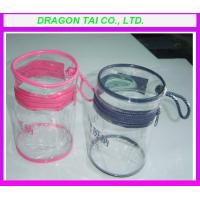 Wholesale PVC Cylinder bag ,  Cylinder bag with zipper from china suppliers